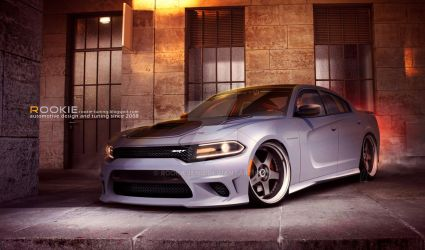 Dodge Charger Hellcat NFS2 by rookiejeno
