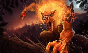 Firefang Warwick by domeano