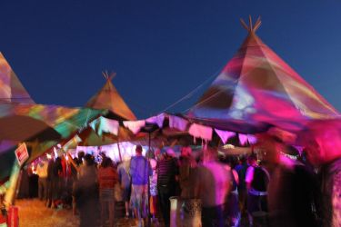 Glastonbury 2010 - Rabbit Hole by melemel