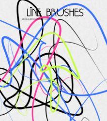 line brushes by leals