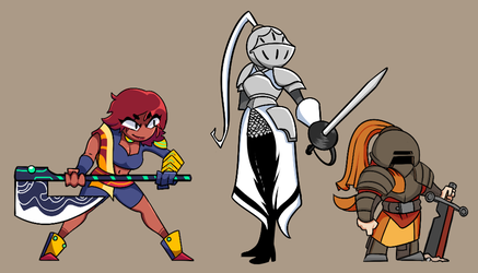 Commissions and Giftart: RPG Styled OCs by TheDarkHarbor