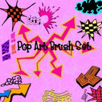 Pop Art Brushes by Red--Roses