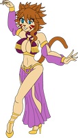 COM Millianna the Harem Dancer by SoraWolf7