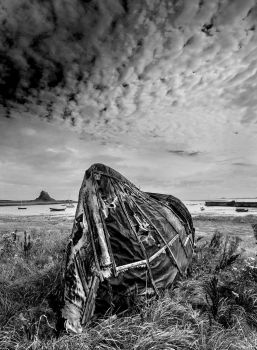 Boat Hut, Holy Island. by photographer55