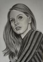 Jessica Chastain by Julia-R-Ch