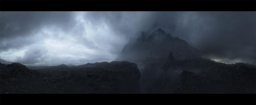 the lonely mountain by leventep
