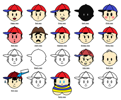 The Ness List by virtualboy2558
