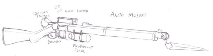 Auto Musket by Imperator-Zor