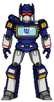 Soundwave (G1) by alexmicroheroes