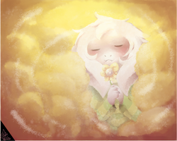 Asriel: Goodbye Best Friend by DespairGriffin