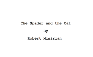 The Spider and the Cat Script by RobertMisirian