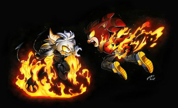 CE: Darkness and Fire by FinikArt