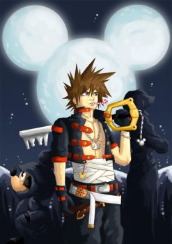 Somehow Sora by fan-art-club