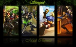 Singed background by K4tEe