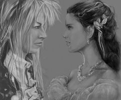 Sarah and Jareth by Zeppo-Rosencrutz