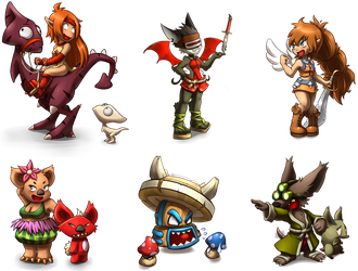 chibis dofus mag by forkmotion