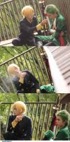 ZORO X SANJI - ONE PIECE - STRONG WORLD by haryadi-darkvictory