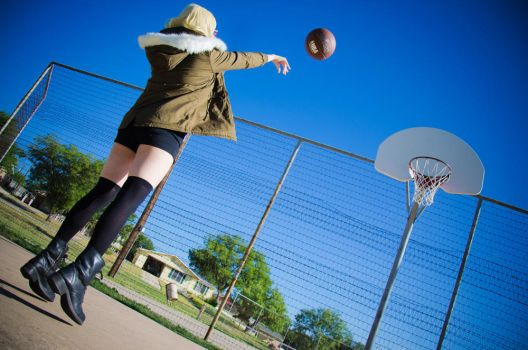 Knb: Free Throw by singingaway