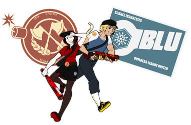 Team Fortress RW-BY: Scout class by Soundwave3591