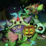 Glitter cat trick or treat by ShelbyAlyse