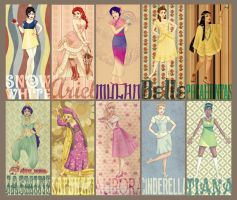 Disney Princess Project - Retro/Vintage by Vimeddiee