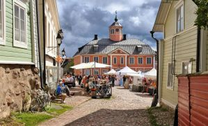 Summer day in Porvoo II by Pajunen