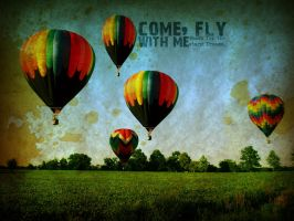 Come. Fly With Me by baloneyart