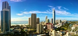 Surfers Paradise View by mik3tan