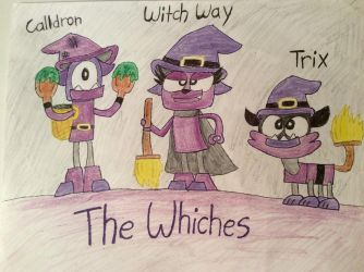 Mixel OC's: The Whiches by MLPRainbowBrush