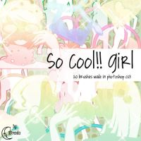 So cool Girl brushes by Coby17