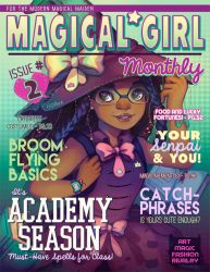 MAGICAL GIRL Monthly #2 by GDBee