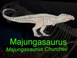 DINOWORLD: MAJUNGASAURUS by HUBLERDON