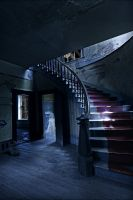 Spooky Staircase by croonstreet