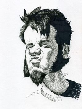 Self Caricature by TinyPEN15