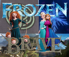 Frozen Brave Poster by Frie-Ice