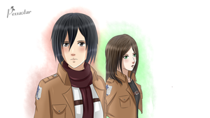 SNK / AOT : Keep The Mission Done by Pexxastar