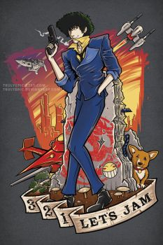 Cowboy Bebop: Bounty Hunter Blues by TrulyEpic