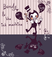 Bendy and the ink machine by Theprince1224