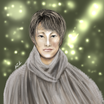 Japanese boy by Thaconstan