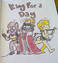 King FUR a Day by PikachuYoshiPines164