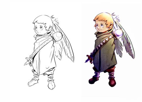 kid concept by fightingfailure