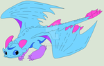 Zephyr-ze Flying by Dolphingurl21stuff