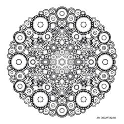 Mandala drawing 37