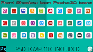 Front Shadow Icon Pack by thechampishere03