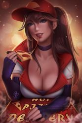 Hot Pizza Delivery Sivir by OlchaS