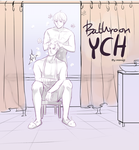 (CLOSED)YCH Auction #bathroom by mimojiX