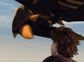Sluther and Toothless Tongue Flap [GIF] by PokeLoveroftheWorld