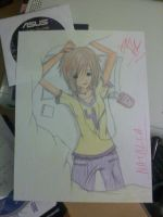 Natalia - Character Sketch by Plasterboard
