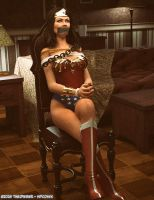 Wonder Woman Chair Scene 01 by thejpeger