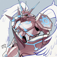 Omegamon: Merciful Mode by J3rry1ce